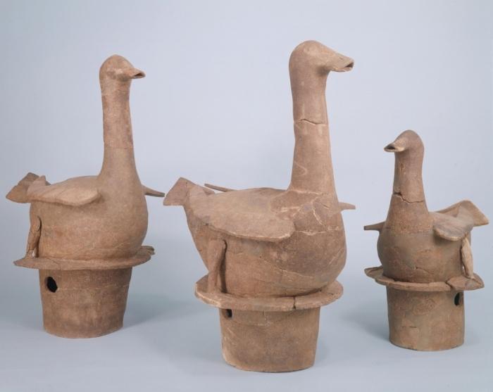水鳥形埴輪
